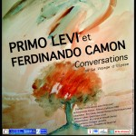 Affiche Primo Levi et Ferdinando Camon