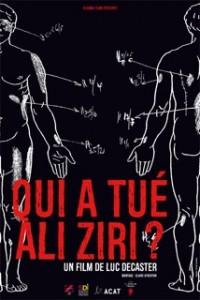 Affiche Qui a tué Ali Ziri BIG