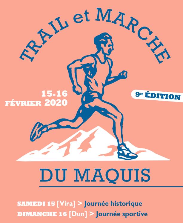 """Journées historique et sportive : """"Trail et marche du maquis"""""""