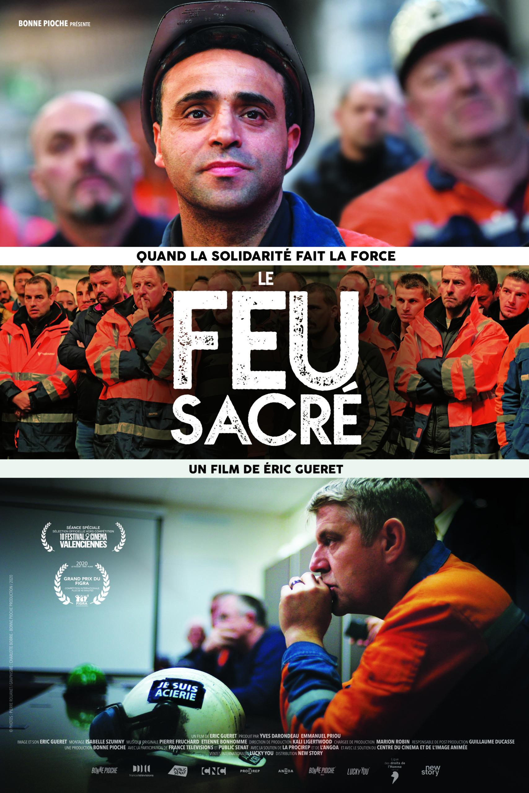 """Projection-débat : """"Le feu sacré"""""""