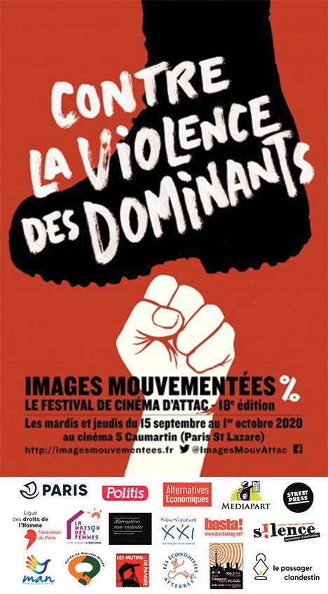 """Festival de cinéma Images mouvementées : """"Contre la violence des dominants"""""""