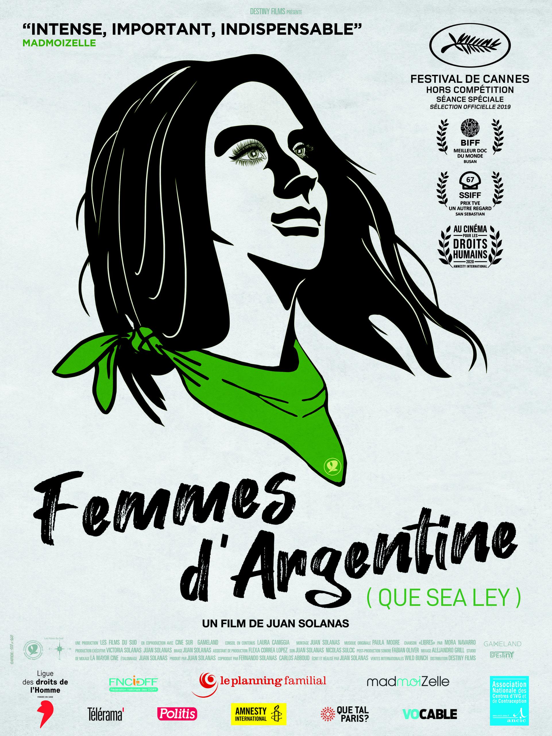 Projection-débat : Femmes d'Argentine (Que sea ley)