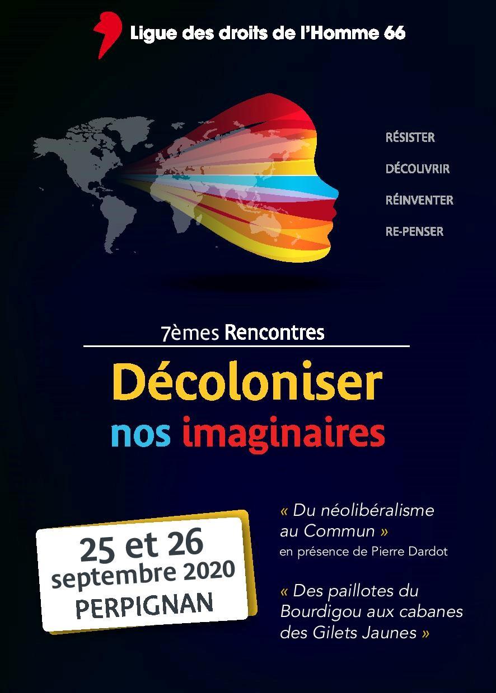 """7e journée """"Décolonisons Nos Imaginaires"""""""