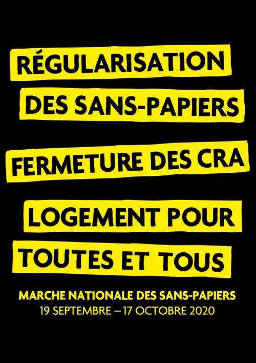 Marche des Solidarités – Accueil de la Marche à Dijon