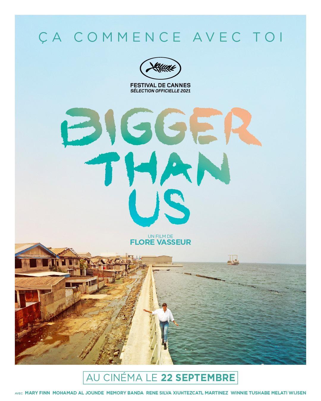 Projections-débats : Bigger than us