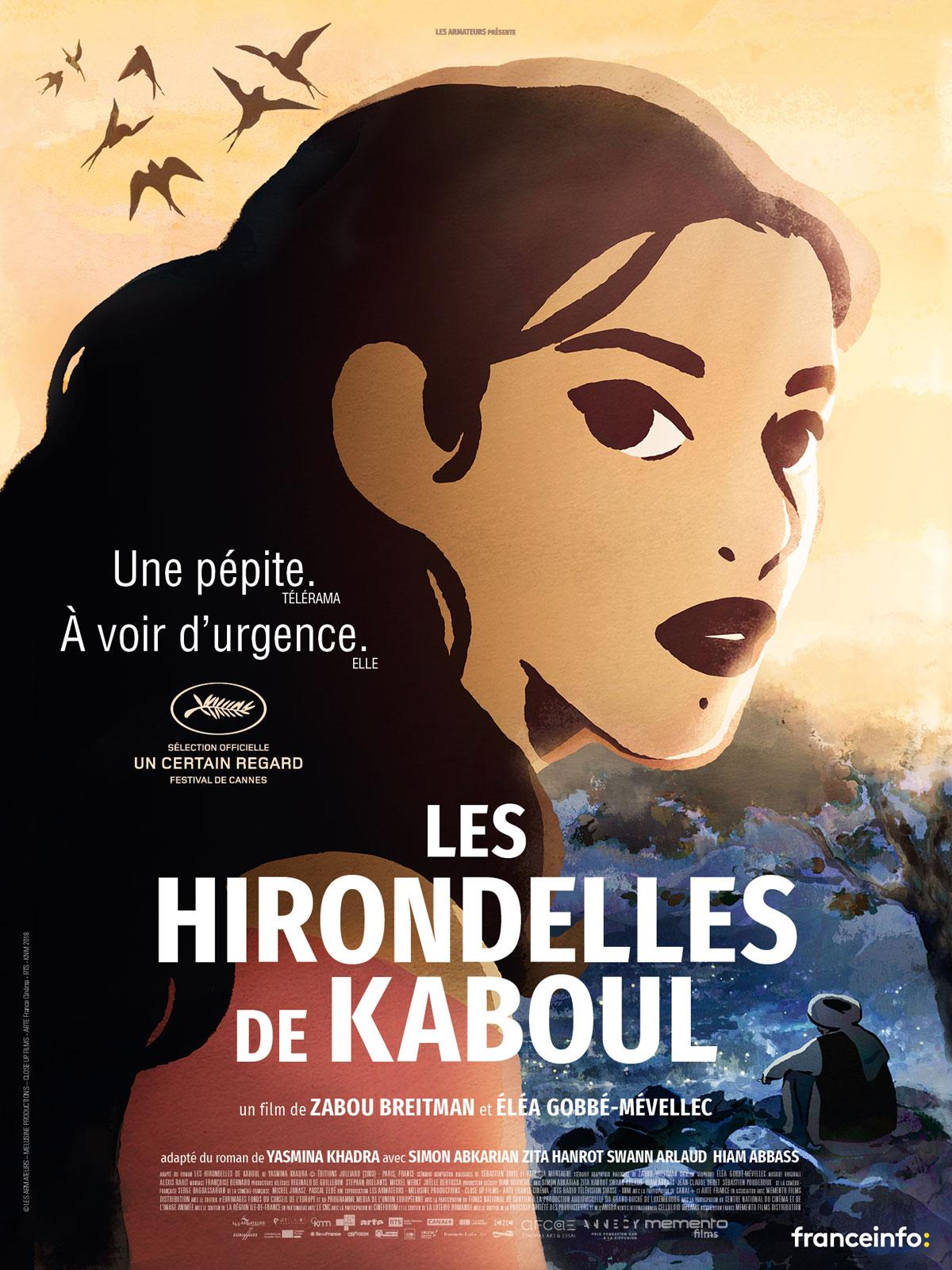 ciné-débat: les hirondelles de Kaboul