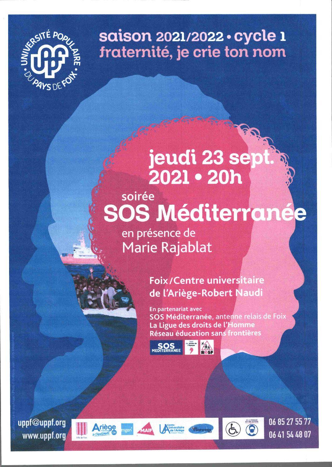Soirée SOS Méditerranée