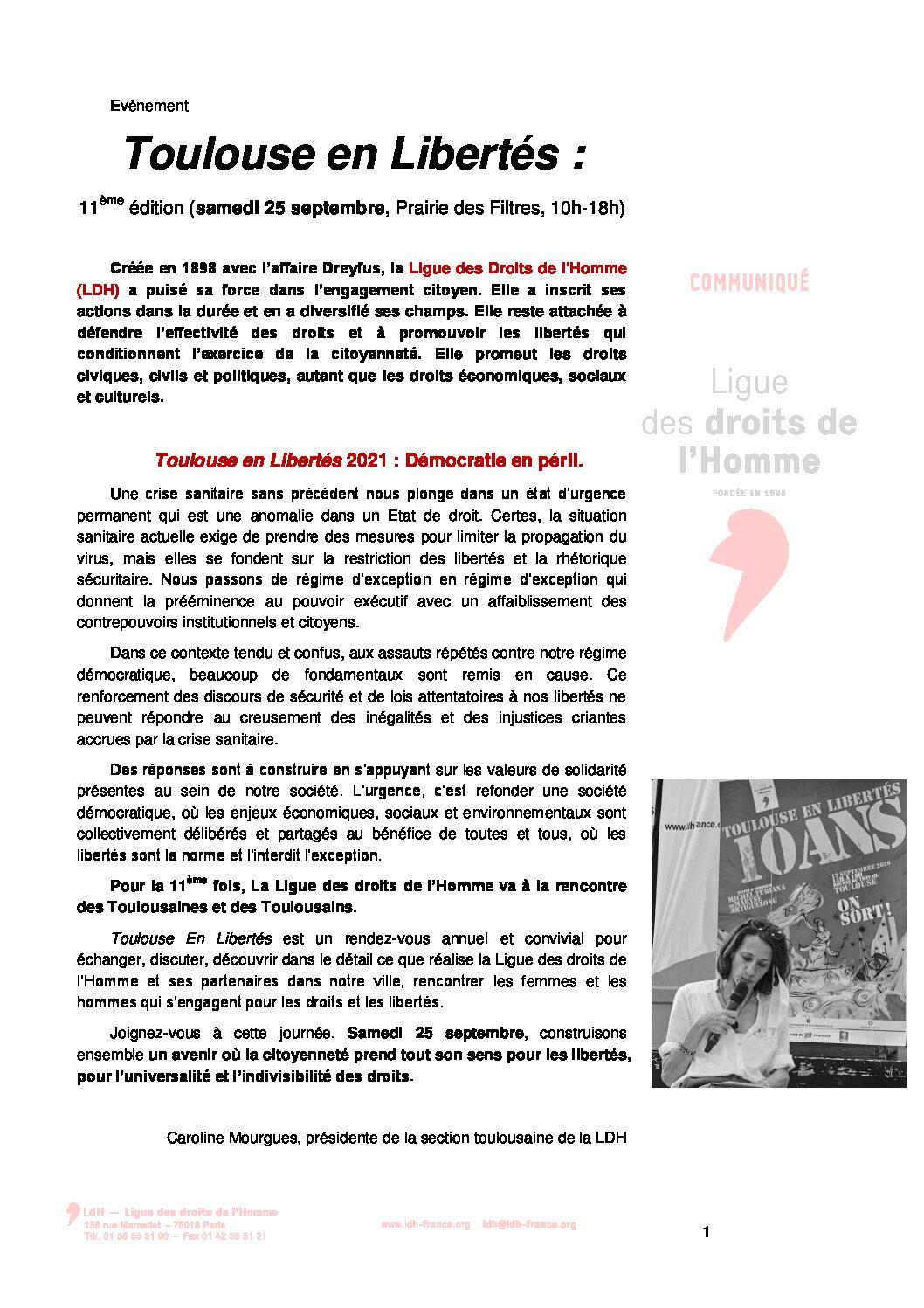 Toulouse en Libertés