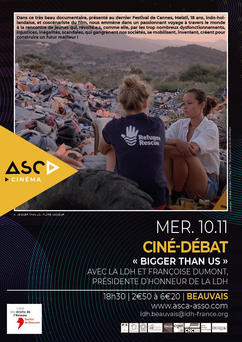 Ciné-débat : Bigger than us