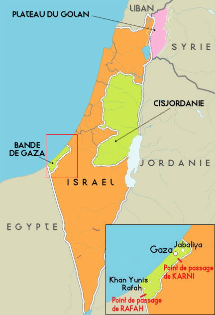 Bande de Gaza, 3 ans après